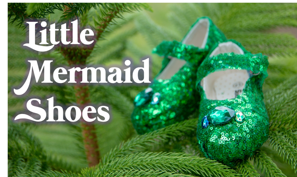 DIY Baby Shoes Makeover (Little Mermaid